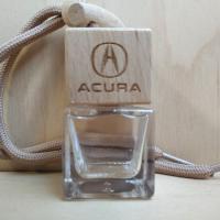 Автоароматизатор с деревянной крышкой с логотипом Acura (пустой)