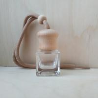 Флакон    Круглая крышка, квадратное стекло (пустой)