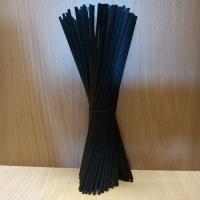 Ротанговые палочки из тростника (черные), 100 шт
