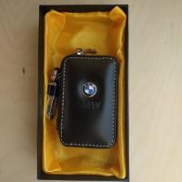 """Ключница кожаная с логотипом """"BMW"""""""