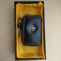 "Ключница кожаная с логотипом ""Opel"""