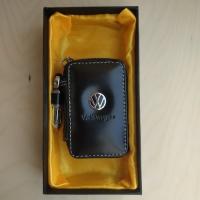 "Ключница кожаная с логотипом ""Volkswagen"""