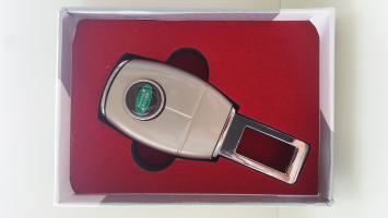 """Переходник ремня безопасности с логотипом """"Land Rover"""""""