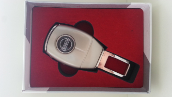"Переходник ремня безопасности с логотипом ""Nissan"""