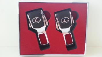 """Заглушка ремня безопасности с логотипом """"Lexus"""""""
