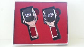 "Заглушка ремня безопасности с логотипом ""Subaru"""
