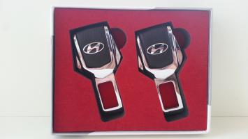 "Заглушка ремня безопасности с логотипом ""Hyundai"""