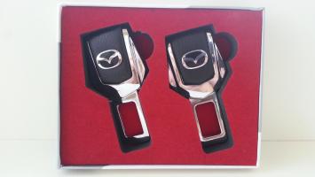 "Заглушка ремня безопасности с логотипом ""Mazda"""