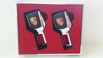 """Заглушка ремня безопасности с логотипом """"Porsche"""""""